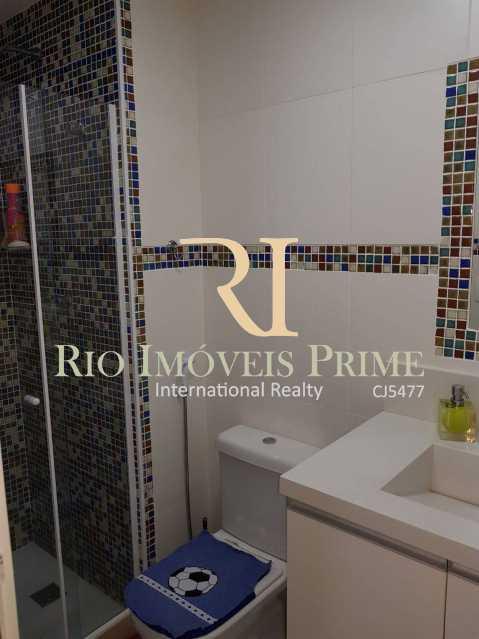 Banheiro da suíte 2 - Cobertura 3 quartos à venda Barra Olímpica, Rio de Janeiro - R$ 1.145.000 - RPCO30014 - 15
