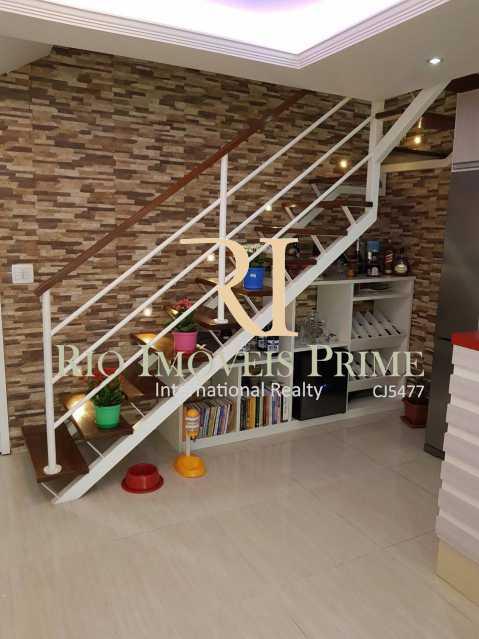 Sala piso nferior - Cobertura 3 quartos à venda Barra Olímpica, Rio de Janeiro - R$ 1.145.000 - RPCO30014 - 7