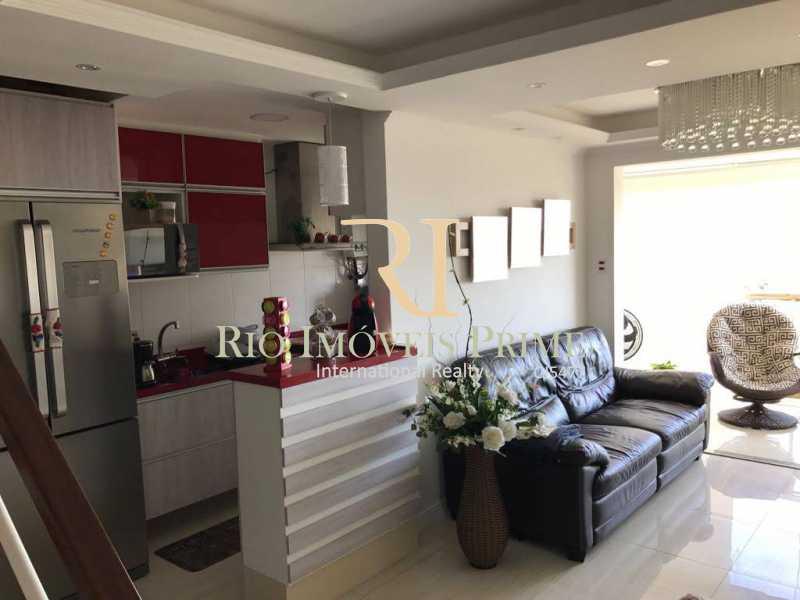 Sala piso inferior - Cobertura 3 quartos à venda Barra Olímpica, Rio de Janeiro - R$ 1.145.000 - RPCO30014 - 8