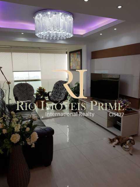Sala piso inferior - Cobertura 3 quartos à venda Barra Olímpica, Rio de Janeiro - R$ 1.145.000 - RPCO30014 - 5