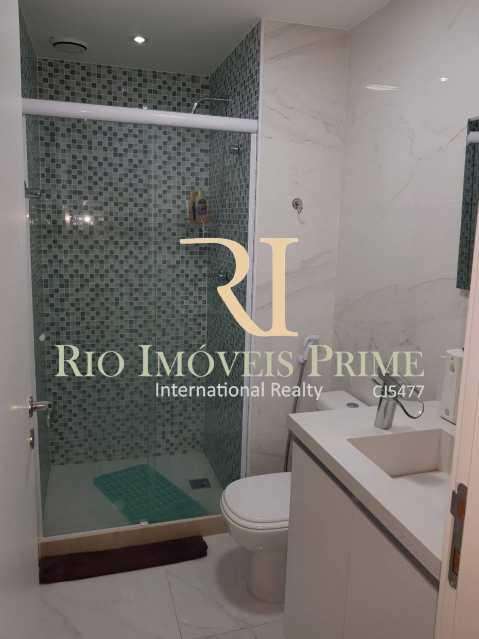 Banheiro suíte 1 - Cobertura 3 quartos à venda Barra Olímpica, Rio de Janeiro - R$ 1.145.000 - RPCO30014 - 19