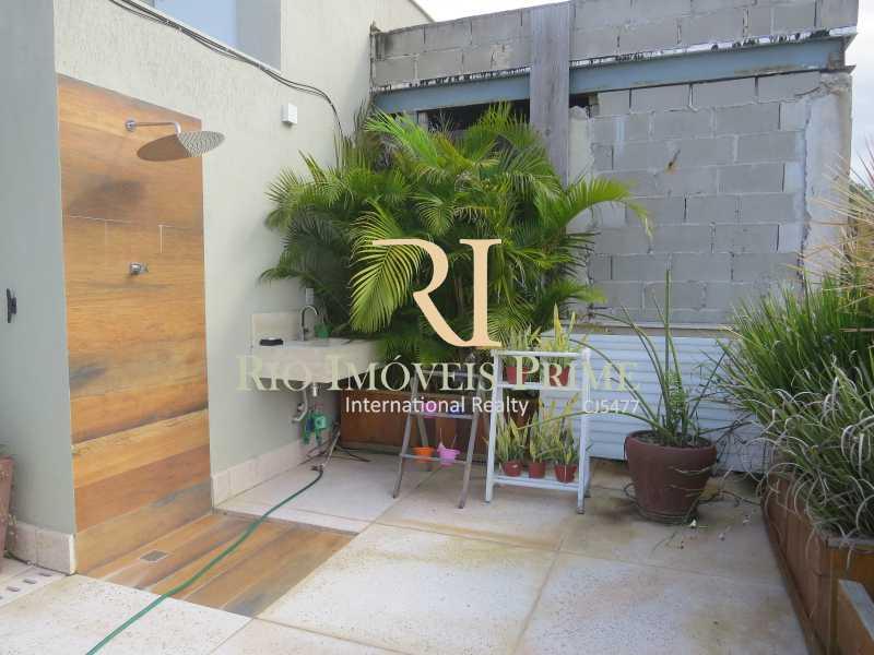 TERRAÇO - Cobertura 2 quartos à venda Humaitá, Rio de Janeiro - R$ 1.749.900 - RPCO20006 - 21