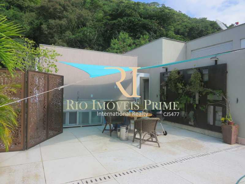 TERRAÇO - Cobertura 2 quartos à venda Humaitá, Rio de Janeiro - R$ 1.749.900 - RPCO20006 - 22
