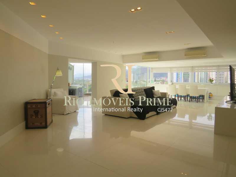 SALAS - Apartamento 3 quartos à venda Barra da Tijuca, Rio de Janeiro - R$ 3.799.999 - RPAP30068 - 1