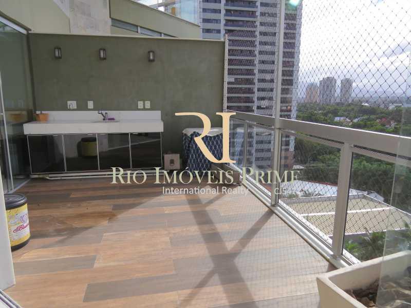 VARANDA GOURMET - Apartamento 3 quartos à venda Barra da Tijuca, Rio de Janeiro - R$ 3.799.999 - RPAP30068 - 4