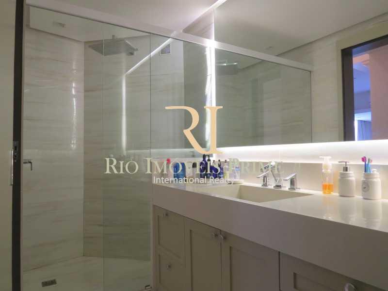 BANHEIRO SUÍTE - Apartamento 3 quartos à venda Barra da Tijuca, Rio de Janeiro - R$ 3.799.999 - RPAP30068 - 9