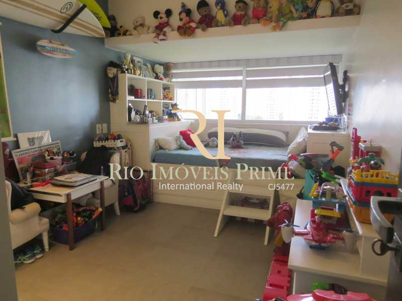 QUARTO3 - Apartamento 3 quartos à venda Barra da Tijuca, Rio de Janeiro - R$ 3.799.999 - RPAP30068 - 11