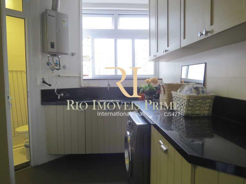 ÁREA E WC DE SERVIÇO - Apartamento 3 quartos à venda Barra da Tijuca, Rio de Janeiro - R$ 3.799.999 - RPAP30068 - 17