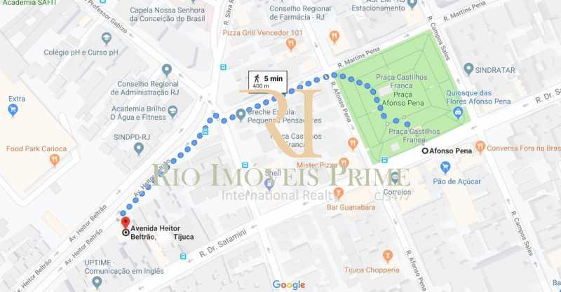 DISTÂNCIA METRÔ - Apartamento à venda Avenida Heitor Beltrão,Tijuca, Rio de Janeiro - R$ 799.900 - RPAP30070 - 21