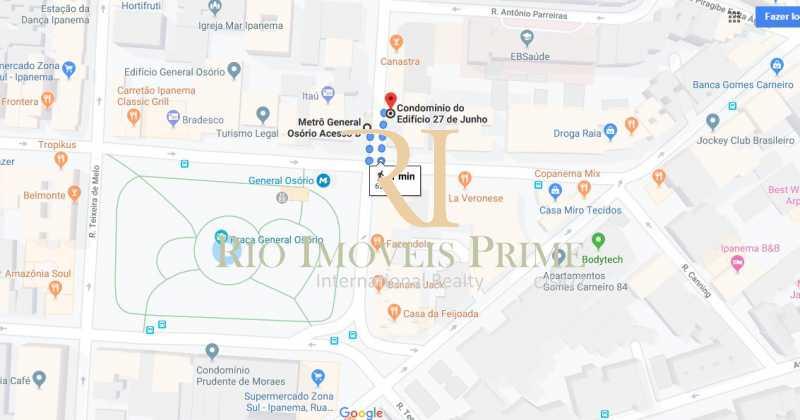 DISTANCIA METRO - Apartamento para alugar Rua Jangadeiros,Ipanema, Rio de Janeiro - R$ 3.600 - RPAP10043 - 21