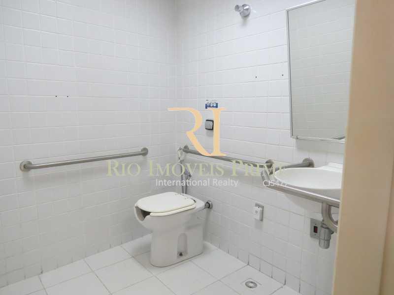 BANHEIRO PNE - Andar 359m² para venda e aluguel Avenida Rio Branco,Centro, Rio de Janeiro - R$ 2.706.000 - RPAN00002 - 14