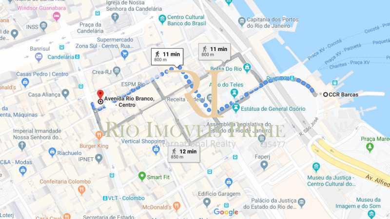20 DISTANCIA BARCAS - Andar 359m² para venda e aluguel Avenida Rio Branco,Centro, Rio de Janeiro - R$ 2.706.000 - RPAN00002 - 21