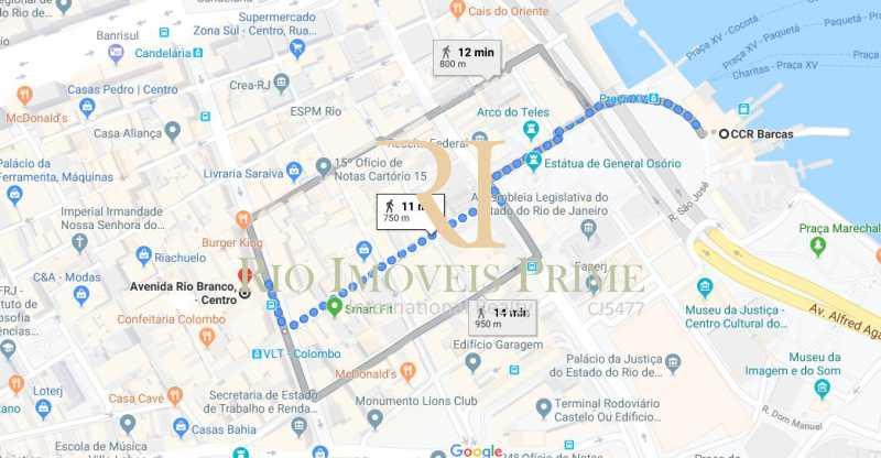 DISTANCIA BARCAS - Andar 400m² para venda e aluguel Avenida Rio Branco,Centro, Rio de Janeiro - R$ 2.655.000 - RPAN00003 - 18