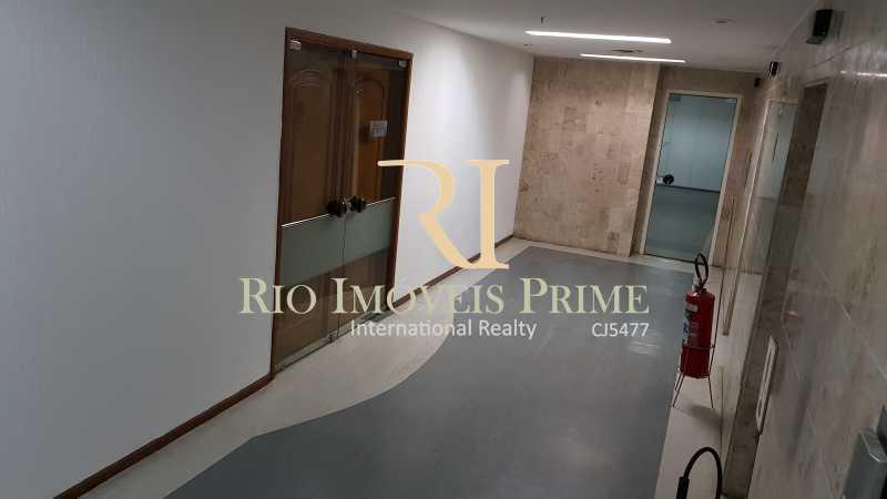 HALL DOS ELEVADORES - Andar 400m² para venda e aluguel Avenida Rio Branco,Centro, Rio de Janeiro - R$ 2.655.000 - RPAN00003 - 15
