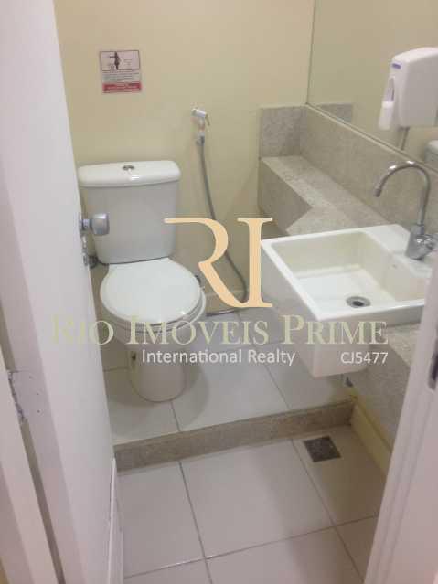 Banheiro - Sala Comercial 175m² para venda e aluguel Rua da Assembléia,Centro, Rio de Janeiro - R$ 1.217.000 - RPSL00009 - 17