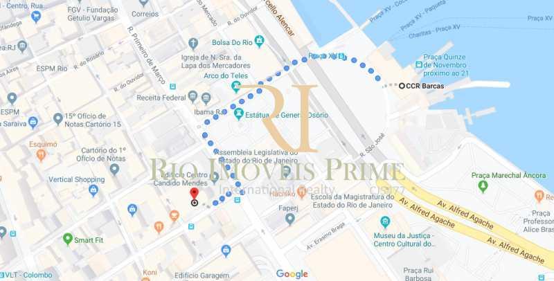 DISTANCIA BARCAS - Sala Comercial 175m² para venda e aluguel Rua da Assembléia,Centro, Rio de Janeiro - R$ 1.385.000 - RPSL00010 - 21