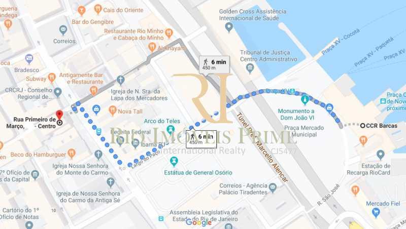 DISTANCIA BARCAS - Andar 322m² para venda e aluguel Rua Primeiro de Março,Centro, Rio de Janeiro - R$ 2.184.000 - RPAN00005 - 21