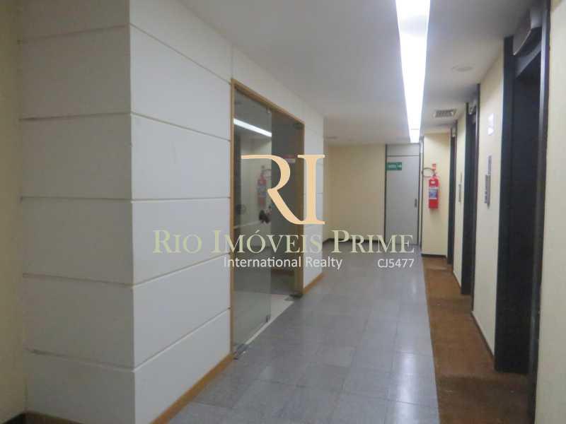 HALL ELEVADORES - Andar 322m² para venda e aluguel Rua Primeiro de Março,Centro, Rio de Janeiro - R$ 2.184.000 - RPAN00006 - 19