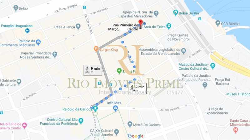 DISTANCIA METRO - Andar 322m² para venda e aluguel Rua Primeiro de Março,Centro, Rio de Janeiro - R$ 2.184.000 - RPAN00006 - 20