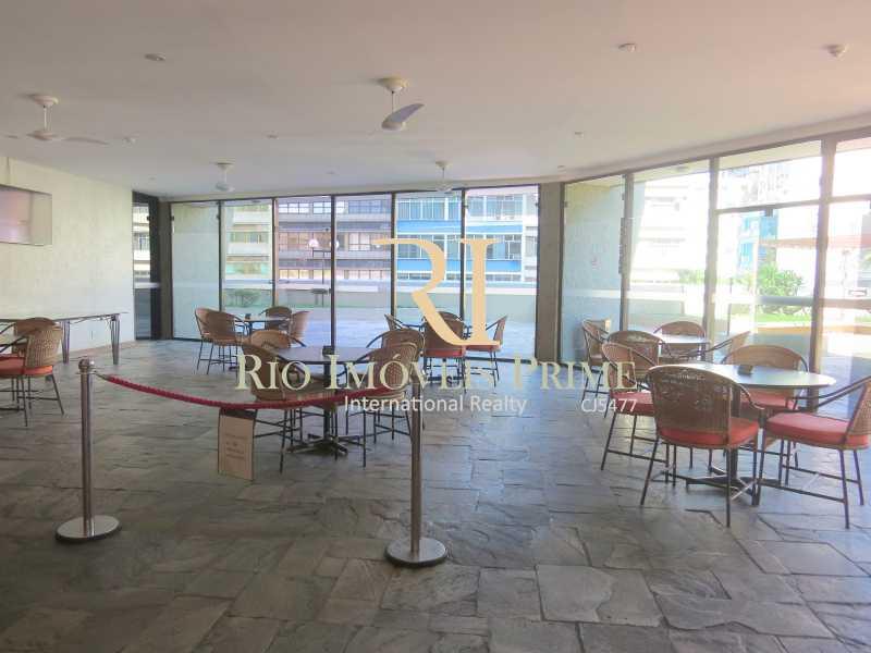 PEQUENO SALÃO - Flat 1 quarto para alugar Leblon, Rio de Janeiro - R$ 4.000 - RPFL10069 - 18