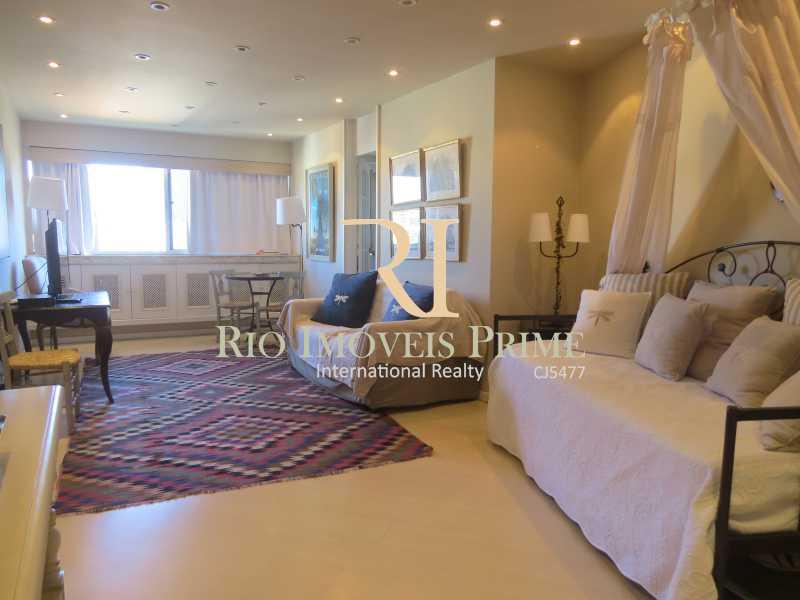 SALA - Flat 1 quarto para alugar Leblon, Rio de Janeiro - R$ 4.000 - RPFL10069 - 5