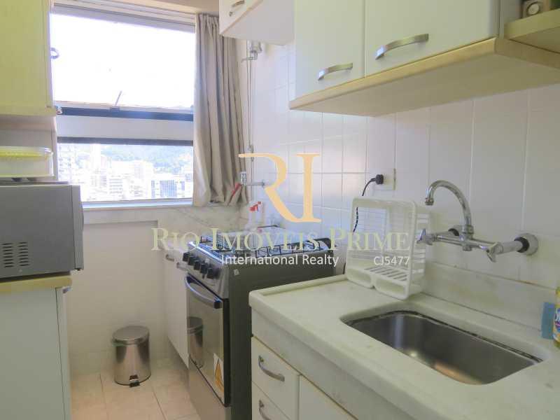 COZINHA - Flat 1 quarto para alugar Leblon, Rio de Janeiro - R$ 4.000 - RPFL10069 - 12