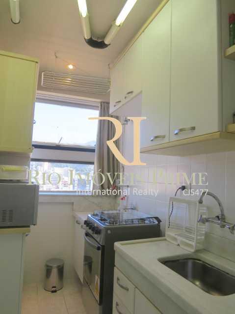 COZINHA - Flat 1 quarto para alugar Leblon, Rio de Janeiro - R$ 4.000 - RPFL10069 - 13