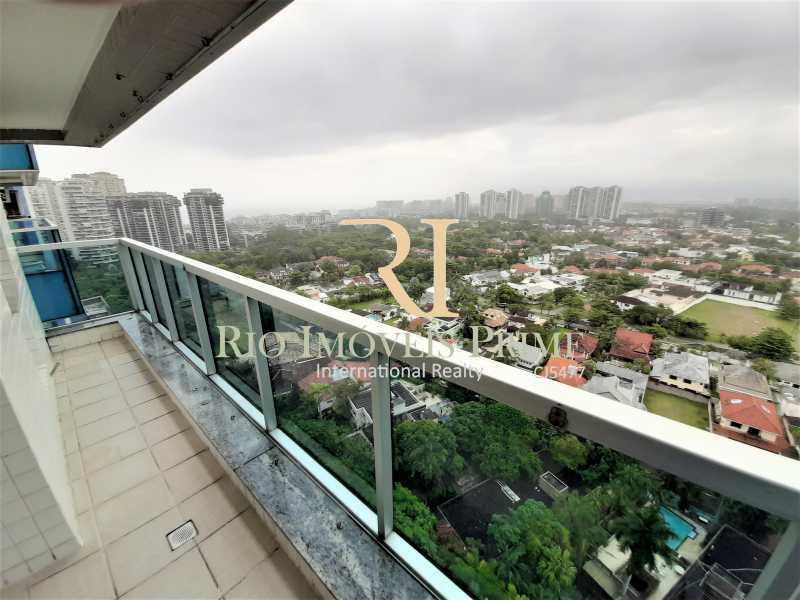 VARANDA - Apartamento 3 quartos à venda Barra da Tijuca, Rio de Janeiro - R$ 899.000 - RPAP30131 - 1
