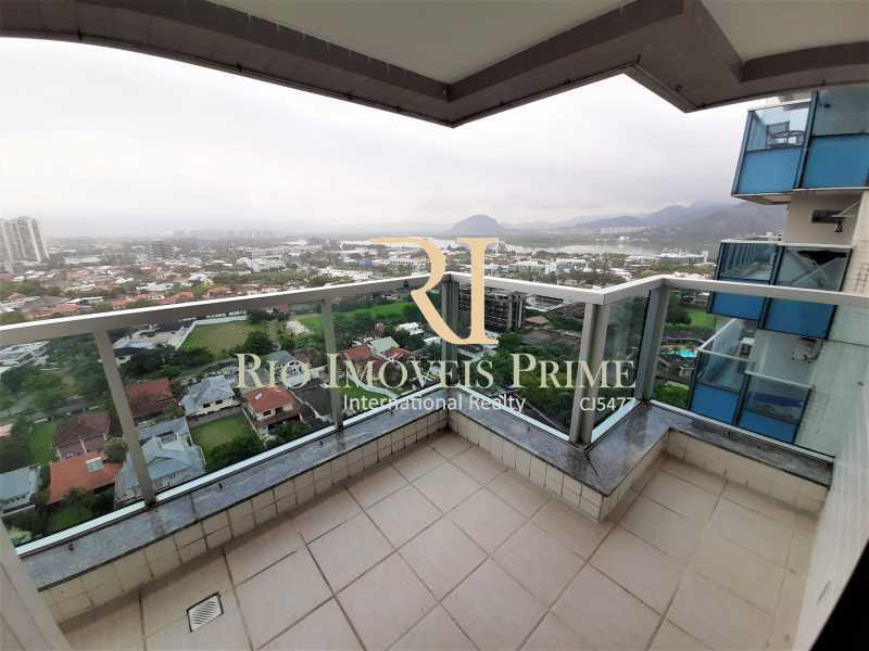 VARANDA - Apartamento 3 quartos à venda Barra da Tijuca, Rio de Janeiro - R$ 899.000 - RPAP30131 - 3
