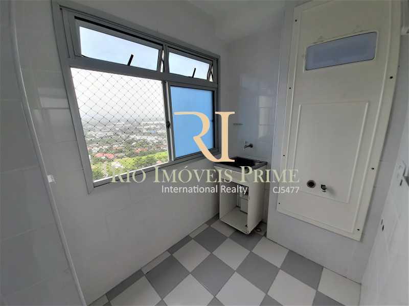 ÁREA SERVIÇO - Apartamento 3 quartos à venda Barra da Tijuca, Rio de Janeiro - R$ 899.000 - RPAP30131 - 9