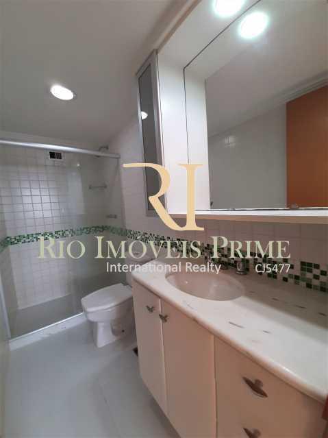 BANHEIRO SUÍTE - Apartamento 3 quartos à venda Barra da Tijuca, Rio de Janeiro - R$ 899.000 - RPAP30131 - 13