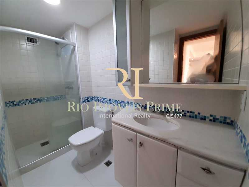 BANHEIRO SOCIAL - Apartamento 3 quartos à venda Barra da Tijuca, Rio de Janeiro - R$ 899.000 - RPAP30131 - 17