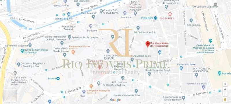 LOCALIZAÇÃO - Prédio 1932m² para venda e aluguel Cidade Nova, Rio de Janeiro - R$ 15.000.000 - RPPR00001 - 22