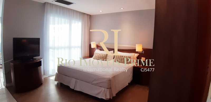 QUARTO - Flat Para Venda ou Aluguel - Barra da Tijuca - Rio de Janeiro - RJ - RPFL10075 - 3