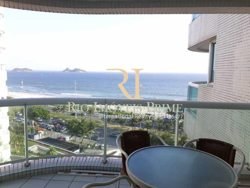 VARANDA - Flat Para Venda ou Aluguel - Barra da Tijuca - Rio de Janeiro - RJ - RPFL10075 - 1