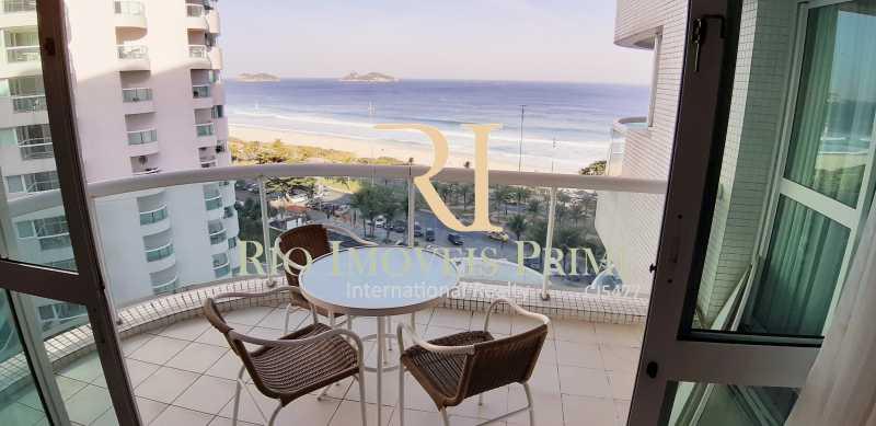 VARANDA 8 - Flat Para Venda ou Aluguel - Barra da Tijuca - Rio de Janeiro - RJ - RPFL10075 - 11