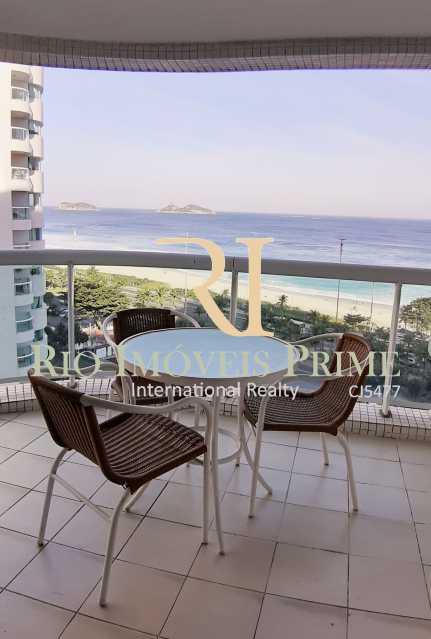 VARANDA - Flat Para Venda ou Aluguel - Barra da Tijuca - Rio de Janeiro - RJ - RPFL10075 - 10