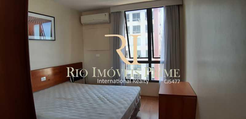 QUARTO COM SPLIT - Flat À Venda - Leblon - Rio de Janeiro - RJ - RPFL10077 - 14