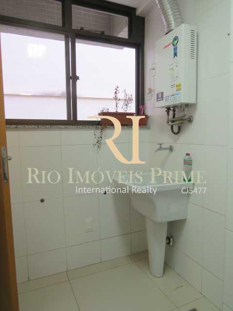 ÁREA SERVIÇO - Apartamento À Venda - Tijuca - Rio de Janeiro - RJ - RPAP30079 - 16