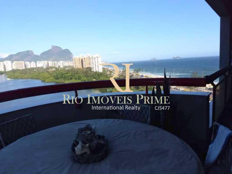 VARANDA - Apartamento À Venda - Barra da Tijuca - Rio de Janeiro - RJ - RPAP10049 - 1