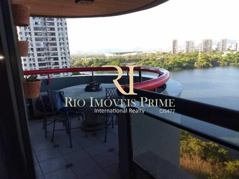 VARANDA - Apartamento À Venda - Barra da Tijuca - Rio de Janeiro - RJ - RPAP10049 - 3