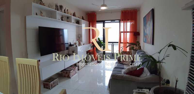 SALA ESTAR - Apartamento À Venda - Barra da Tijuca - Rio de Janeiro - RJ - RPAP10049 - 6