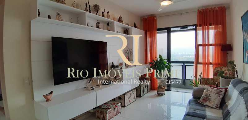 SALA ESTAR - Apartamento À Venda - Barra da Tijuca - Rio de Janeiro - RJ - RPAP10049 - 7