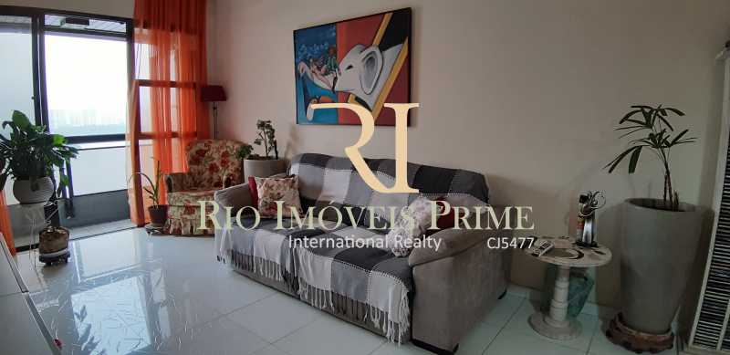 SALA ESTAR - Apartamento À Venda - Barra da Tijuca - Rio de Janeiro - RJ - RPAP10049 - 8