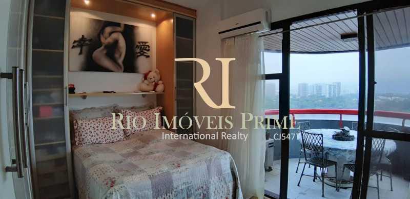 SUÍTE - Apartamento À Venda - Barra da Tijuca - Rio de Janeiro - RJ - RPAP10049 - 11