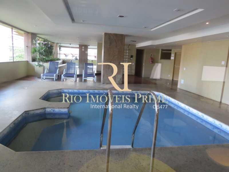 PISCINA - Flat 1 quarto para alugar Leblon, Rio de Janeiro - R$ 5.500 - RPFL10080 - 17