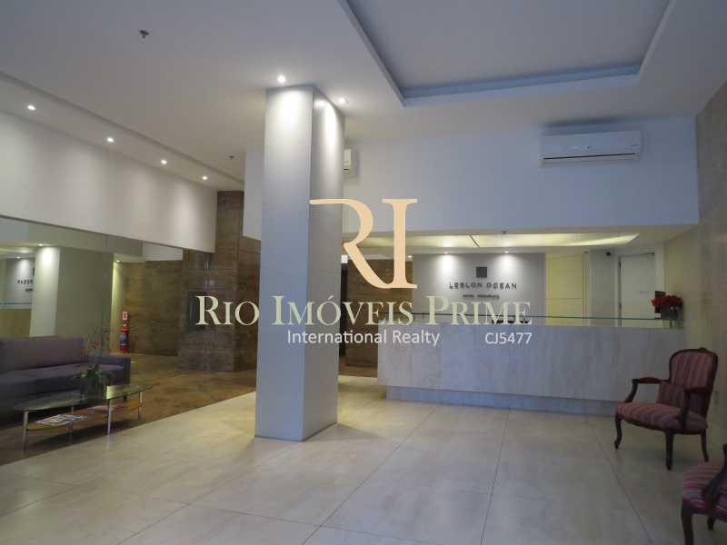 RECEPÇÃO - Flat 1 quarto para alugar Leblon, Rio de Janeiro - R$ 5.500 - RPFL10080 - 23