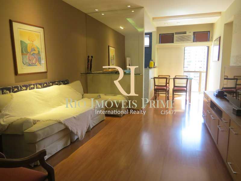 SALA - Flat 1 quarto para alugar Leblon, Rio de Janeiro - R$ 5.500 - RPFL10080 - 3