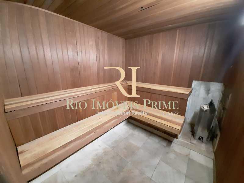 SAUNAS SECA E VAPOR - Flat 2 quartos à venda Barra da Tijuca, Rio de Janeiro - R$ 1.199.999 - RPFL20029 - 24
