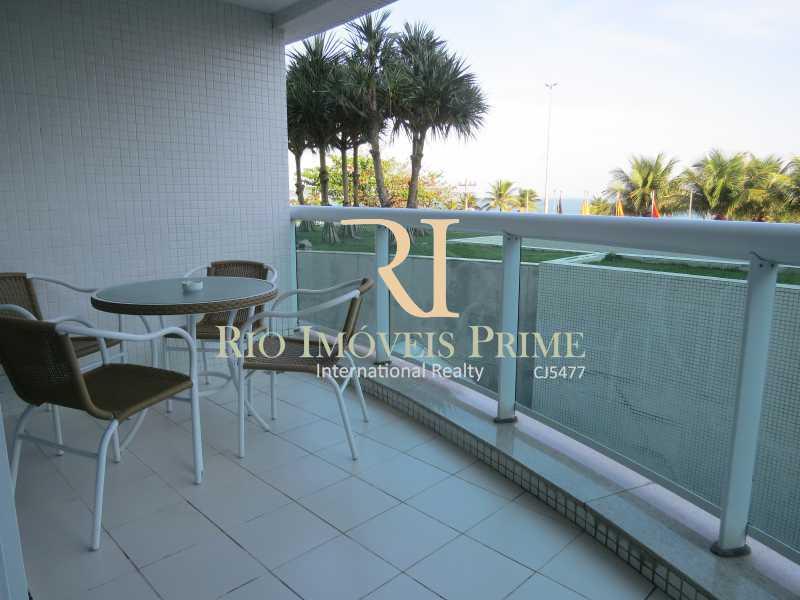 VARANDA1 - Flat 2 quartos à venda Barra da Tijuca, Rio de Janeiro - R$ 1.199.999 - RPFL20029 - 3